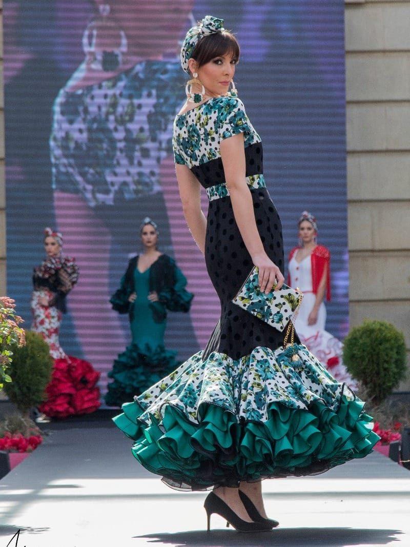 Vestido de flamenca negro