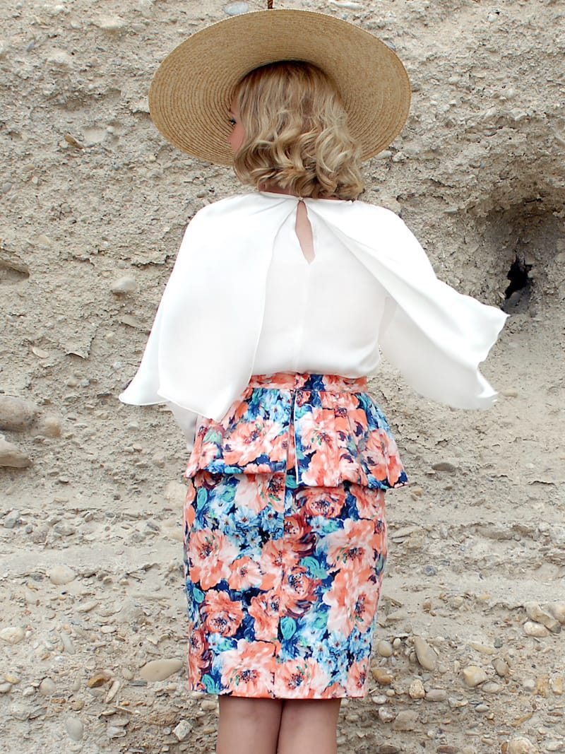 falda volante globo