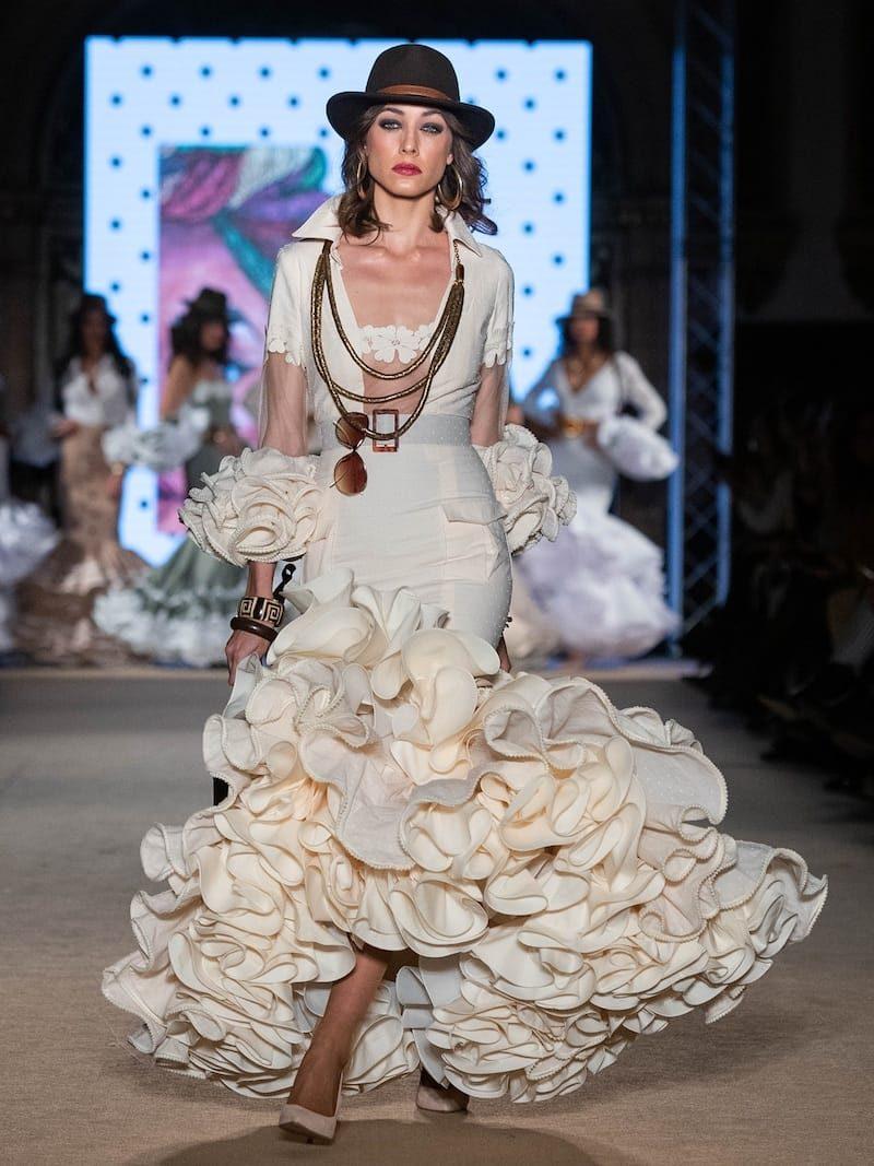 flamenca beig plumeti