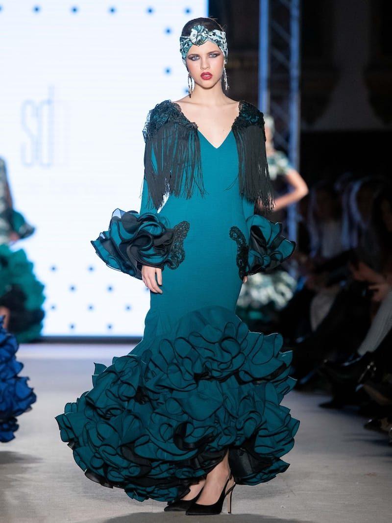 traje de flamenca de diseño
