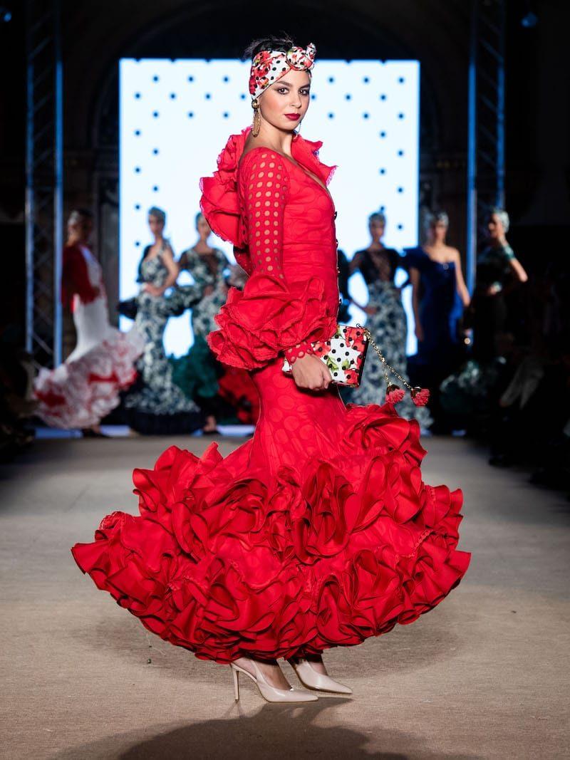 Bolso traje flamenca Sevilla