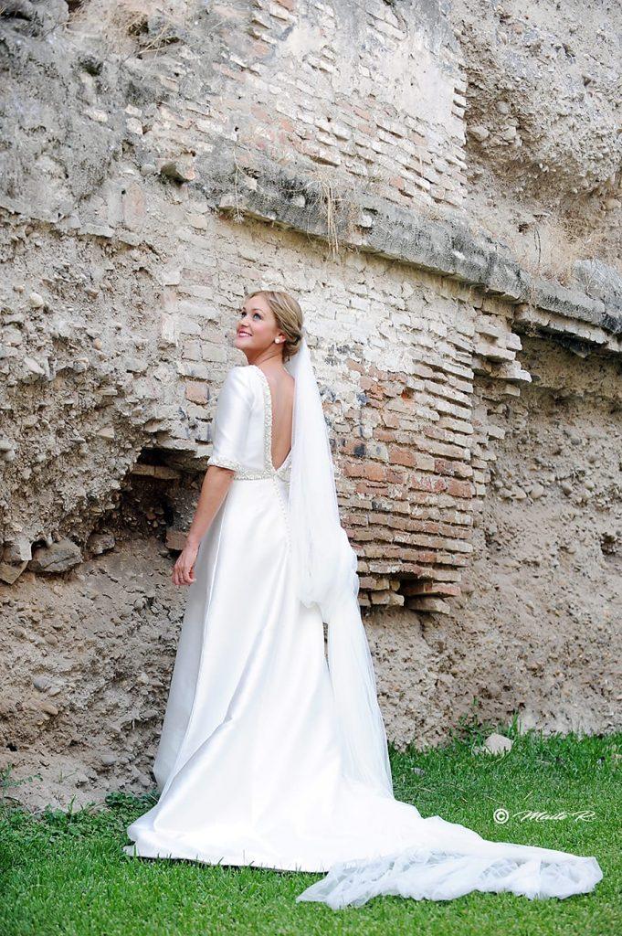 Elegante vestido novia Palma del Rio