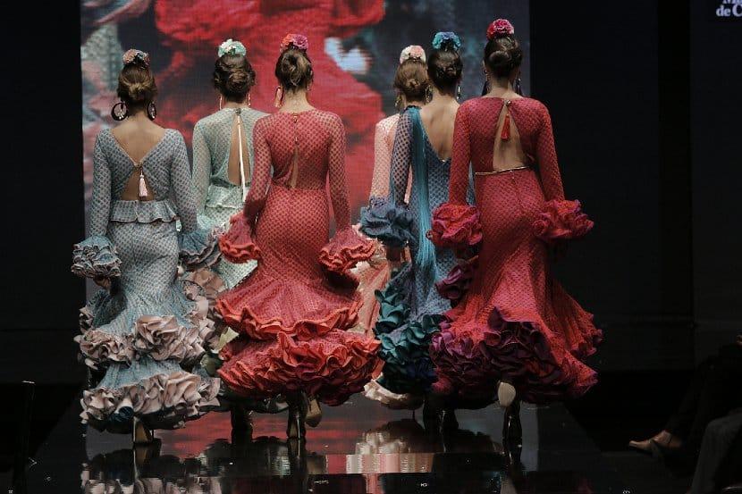 Trajes flamenca SIMOF 2016