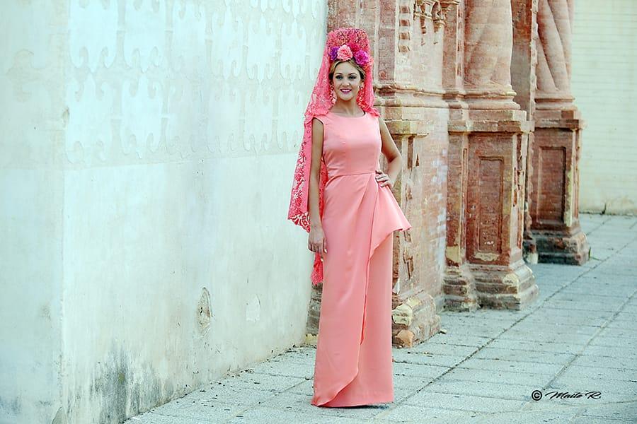 Vestido madrina Sara de Benitez