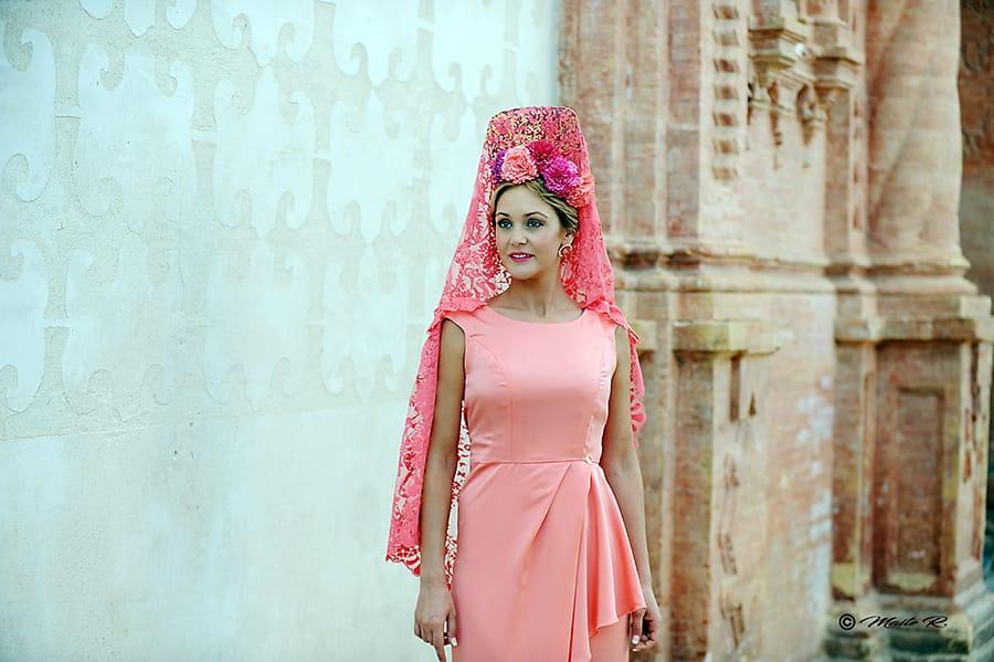 Vestido madrina elegante