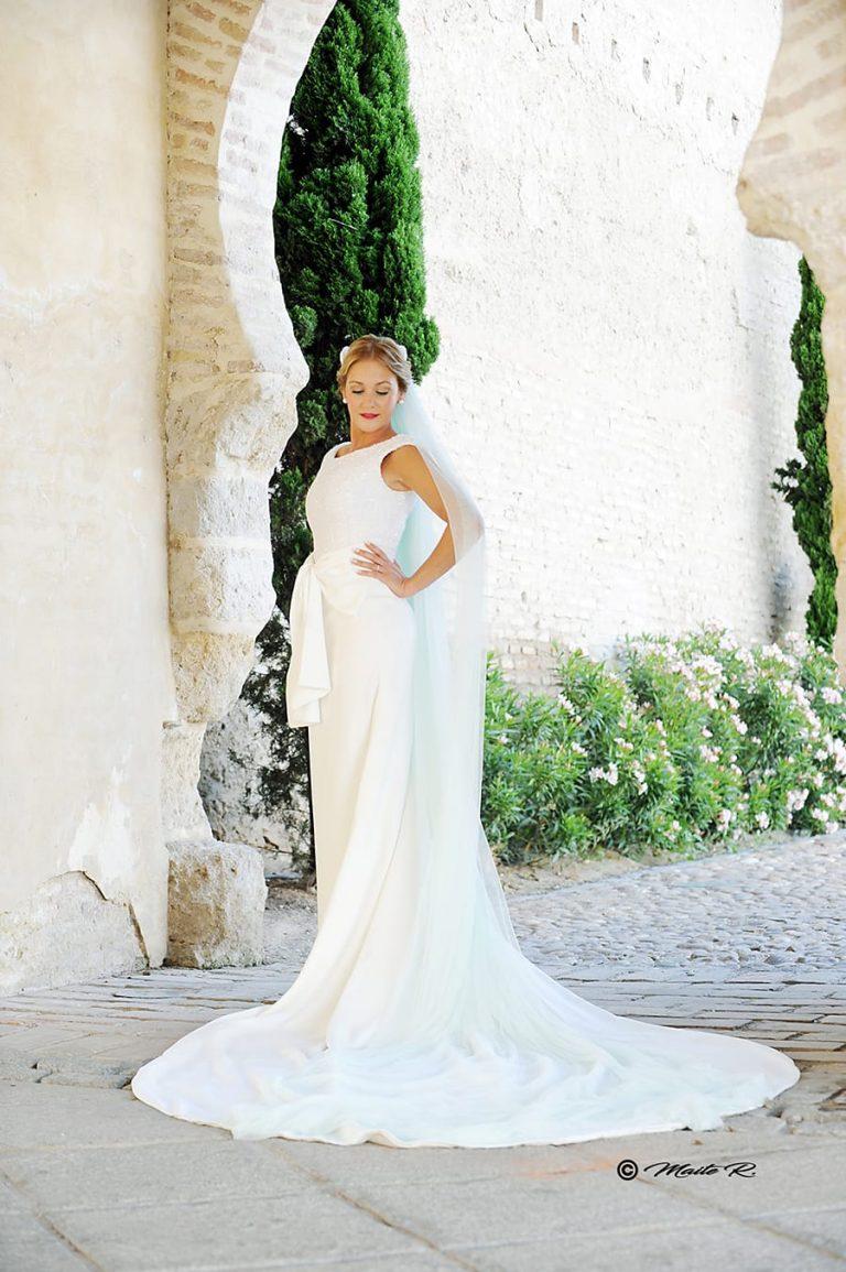 Vestido novia Sara de Benitez