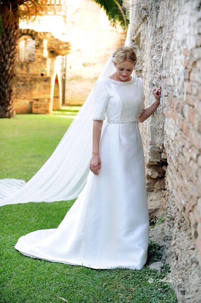 Vestido novia a medida Palma del Rio