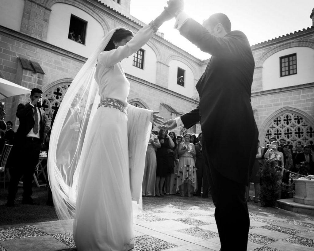 Vestido novia romantico original
