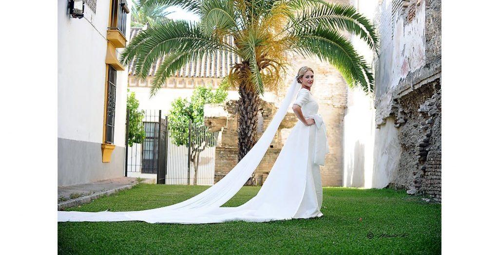 Precioso vestido novia Sara de Benitez