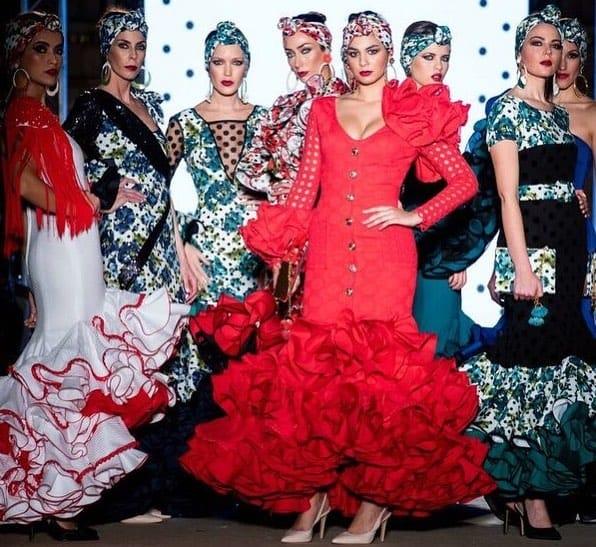 trajes de flamenca de diseño
