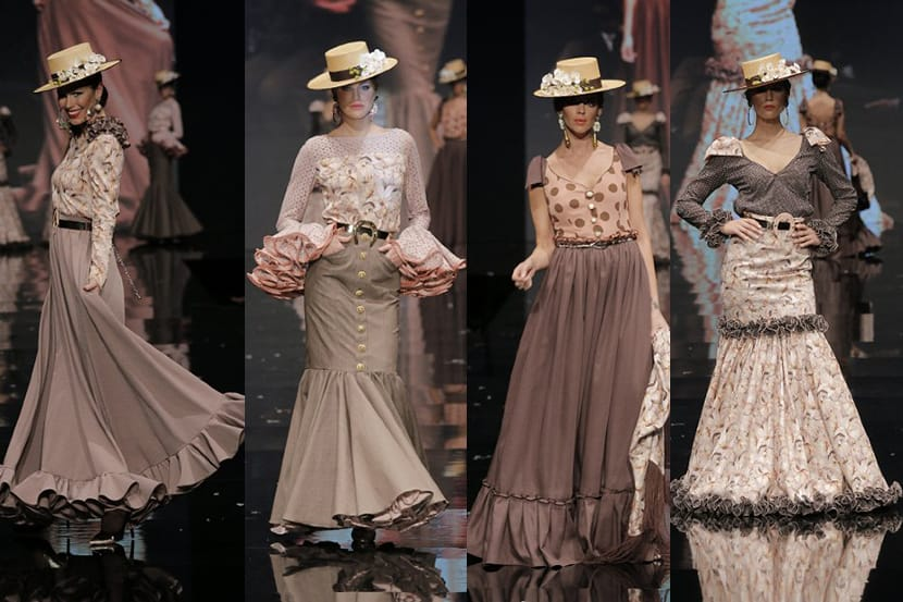 trajes de flamenca tipo amazona