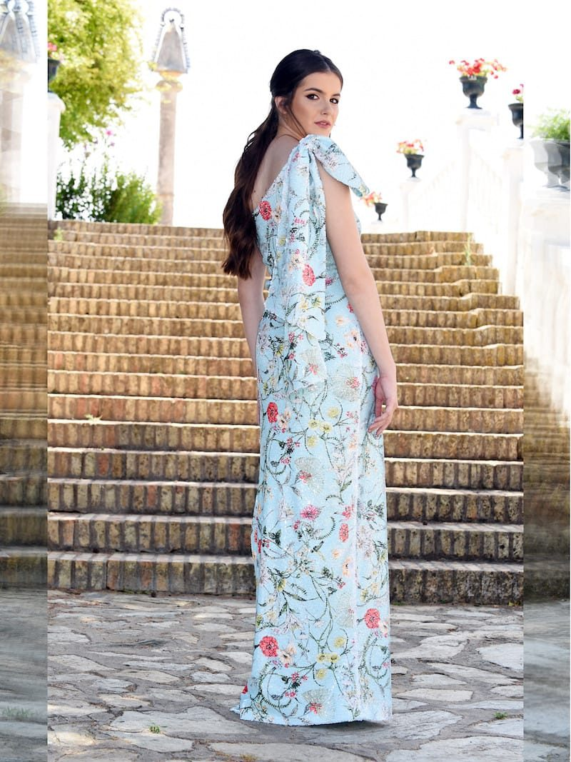 vestido asimetrico para bodas