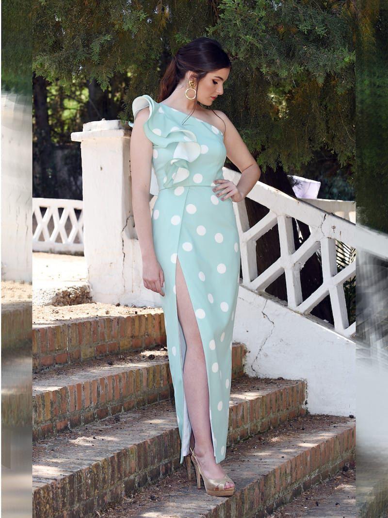 vestido corte cintura
