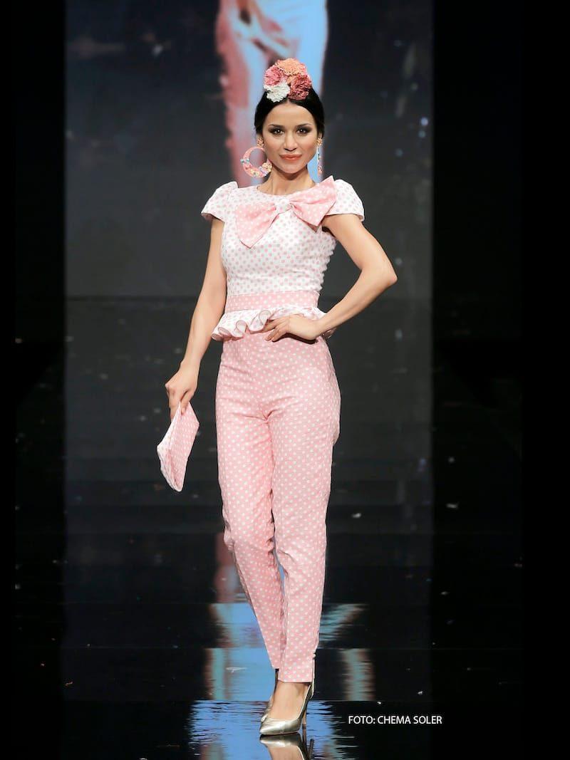 Conjunto de pantalón piqué rosa