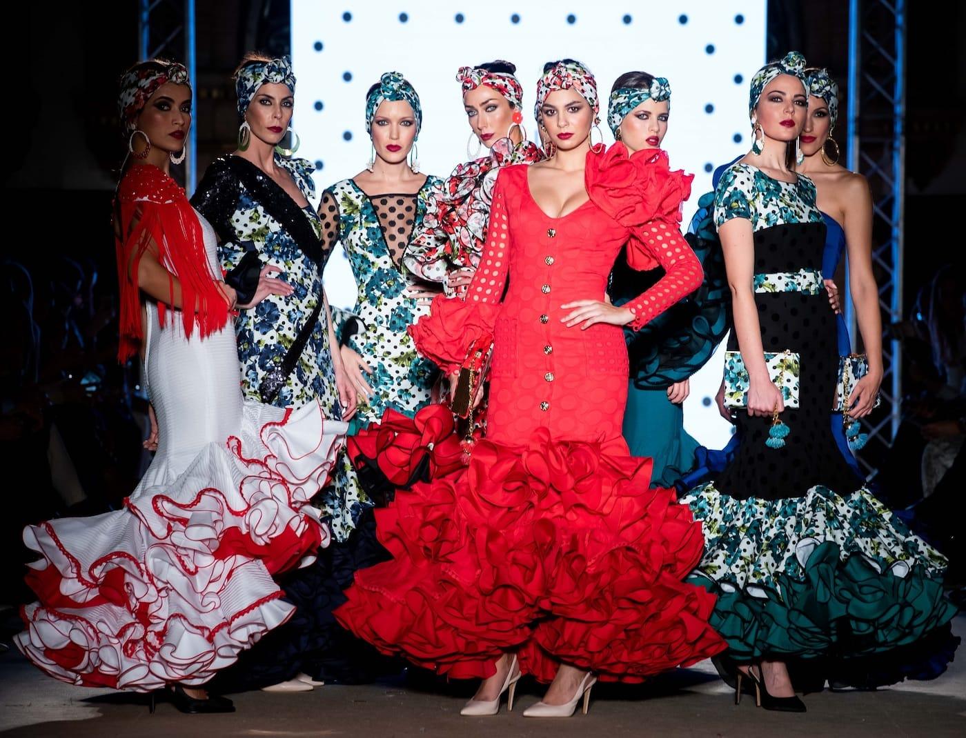 vestidos de flamenca de diseño córdoba y sevilla
