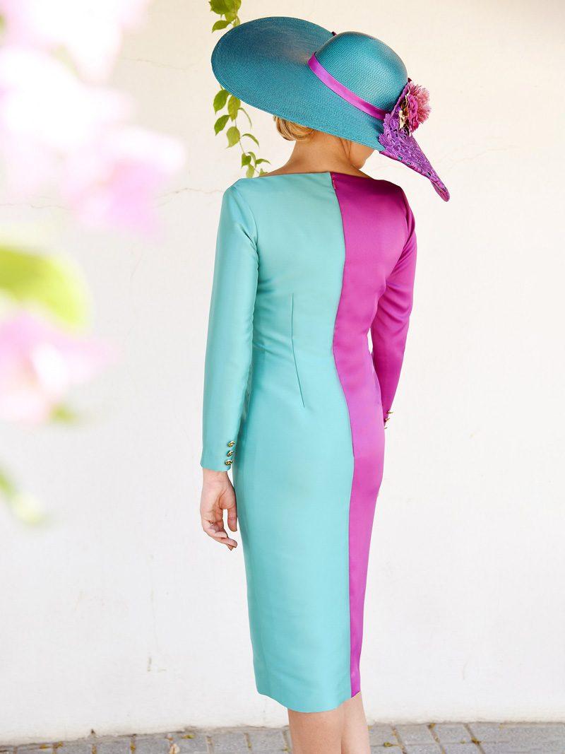 vestido-bicolor-tejido-mikado