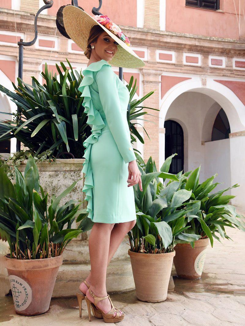 vestido-crepe-verde-manzana