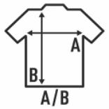 guia de tallas para camisetas sdb