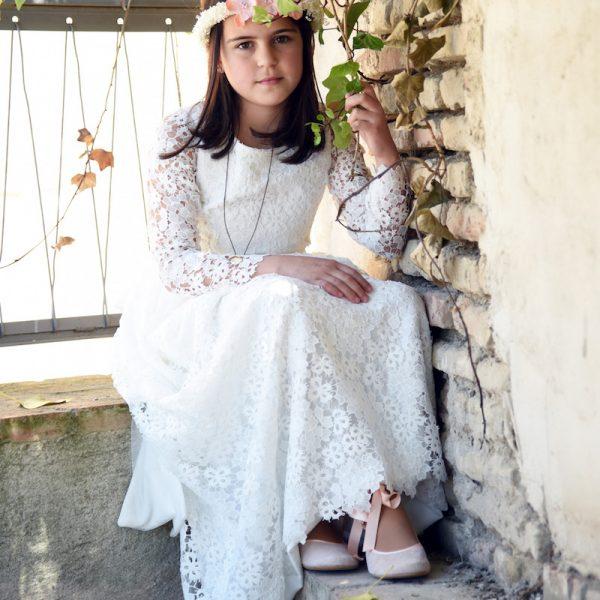 trajes de comunion para niña